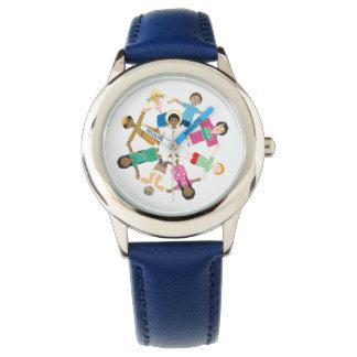 Jesús ama a los niños del mundo relojes