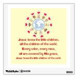 Jesús ama a los pequeños niños