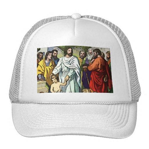 Jesús ama a los pequeños niños gorra