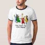 Jesús ama a los pequeños Pagans Camisas