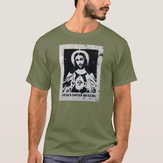 JESÚS AMA A MARICONES PLAYERA