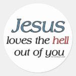 Jesús ama el infierno fuera de usted