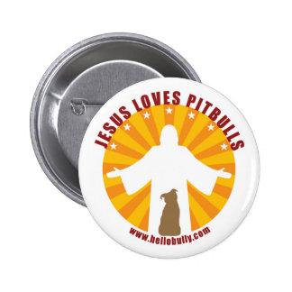 Jesús ama el Pin de Pitbulls