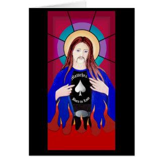 JESÚS AMA LA TARJETA DE LEMMY