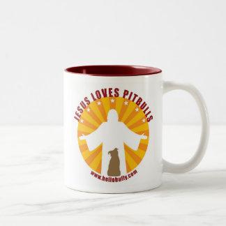 Jesús ama la taza de Pitbulls