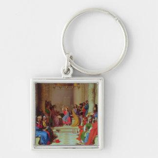 Jesus Among the Doctors, 1862 Key Chain