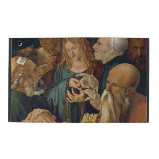 Jesus Among the Doctors by Albrecht Durer iPad Cover