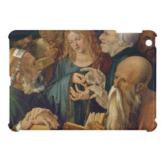 Jesus Among the Doctors by Albrecht Durer iPad Mini Covers