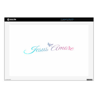 """Jesus Amore Skins For 17"""" Laptops"""