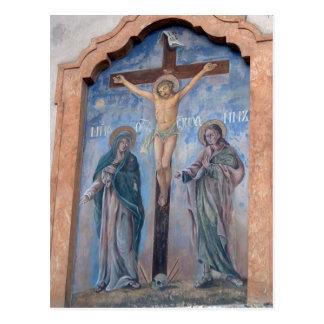 Jesus an the Cross Postcard