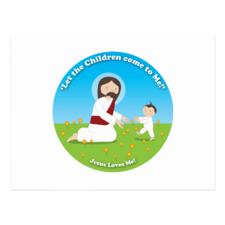 Jesus and Child Postcard
