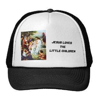 Jesus_and_Children018, Jesus Loves the Little C... Trucker Hat