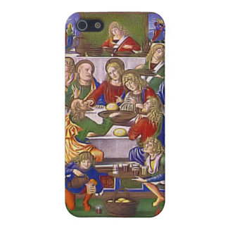 Jesus and his friends cover for iPhone SE/5/5s