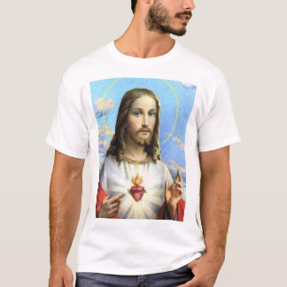 Jesus and His Sacred Heart T-Shirt