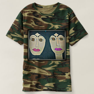 Jesus and Karyn Men's Camouflage T-Shirt