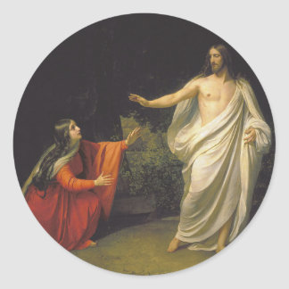 Jesus and Mary Magdalene Sticker