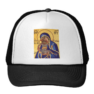 Jesus and Mary Mosaic Picture Hats