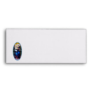 Jesus and Mary stained glass window Envelopes