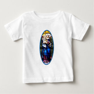 Jesus and Mary stained glass window T Shirt