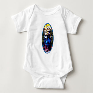 Jesus and Mary stained glass window Tee Shirt