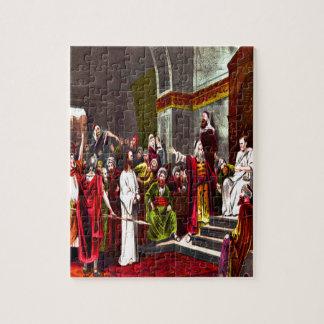Jesus and Pilate Puzzle Design