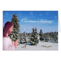 Jesus and Sheep Card
