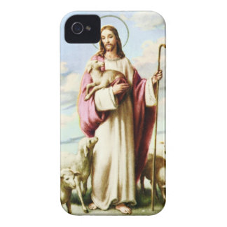 Jesus and Sheeps iPhone 4 Cover