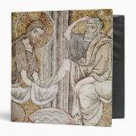 Jesus and St. Peter 3 Ring Binder