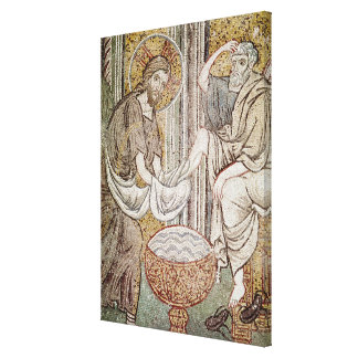 Jesus and St. Peter Canvas Print