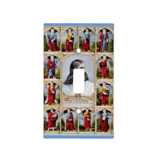 Jesus and the Apostles light switch cover