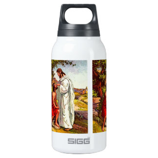 Jesus and The Blind Man Thermos Bottle