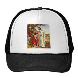 Jesus and The Blind Man Trucker Hat
