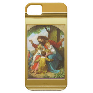 Jesus and the children iPhone SE/5/5s case