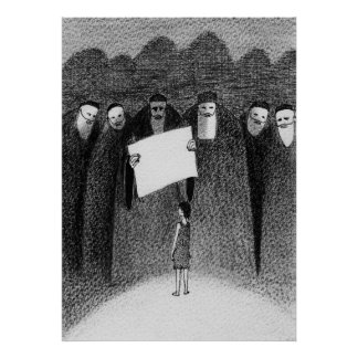 JESUS AND THE ELDERS poster