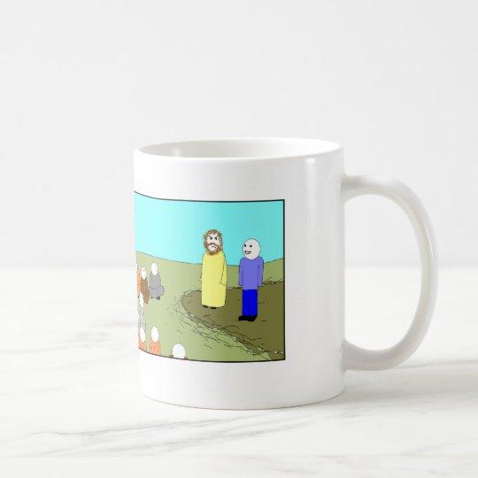 Jesus and the Interpreter 2 Coffee Mug
