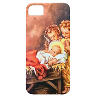 Jesus and the little angels iPhone SE/5/5s case