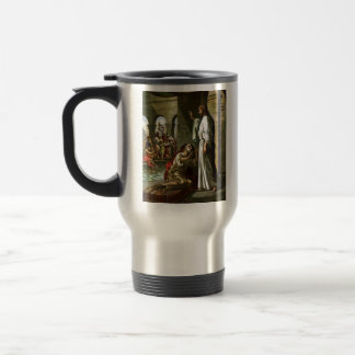 Jesus and the man at the Pool 15 Oz Stainless Steel Travel Mug