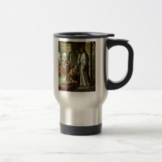 Jesus and the man at the Pool Mugs