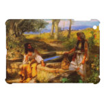 Jesus and the Samaritan Woman at Jacob's well Cover For The iPad Mini