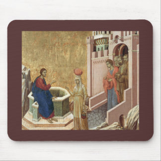 Jesus and the Samaritan Woman by the Well Mouse Pad