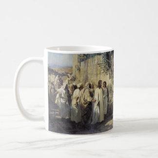 Jesus and the Sinners Coffee Mug