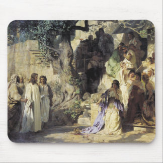 Jesus and the Sinners Mouse Pad