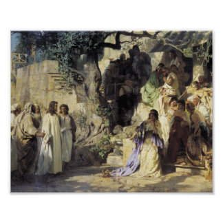 Jesus and the Sinners Print