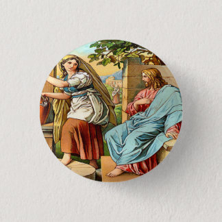 jesus and women at the well button