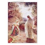 Jesús aparece a Maria Magdalena Felicitacion