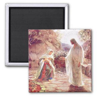 Jesús aparece a Maria Magdalena Imán Cuadrado