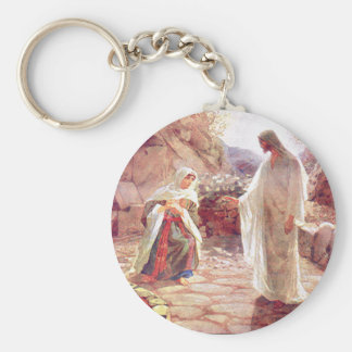 Jesus Appears To Mary Magdalene Keychain
