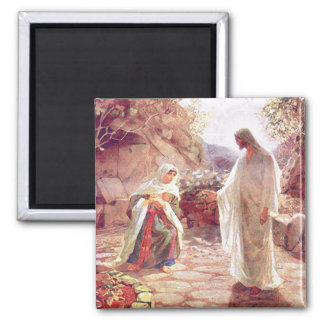 Jesus Appears To Mary Magdalene Magnet