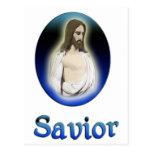 Jesus art products postcard