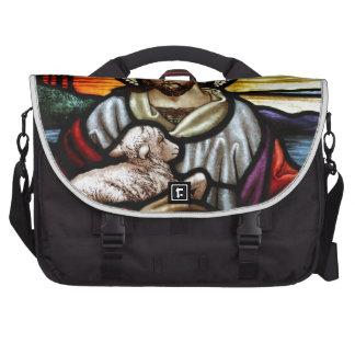 Jesus as the Good Shepherd Laptop Bag